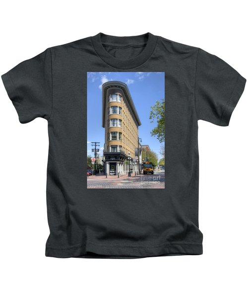 Hotel Europe In Vancouver Kids T-Shirt