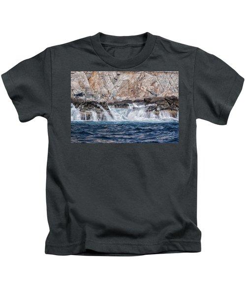 Huatulco's Texture Kids T-Shirt