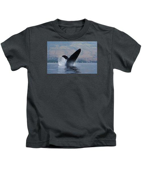 Humpback Whale Breach Kids T-Shirt