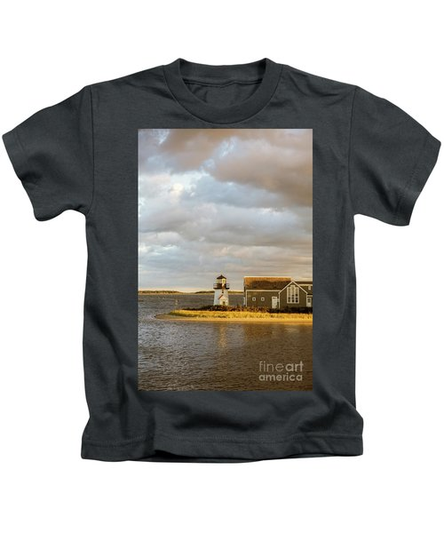 Hyannis Harbor Lighthouse Kids T-Shirt