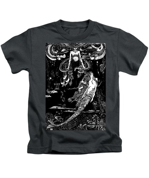 I Know What You Want Said The Sea Witch, Illustration For The Little Mermaid  Kids T-Shirt