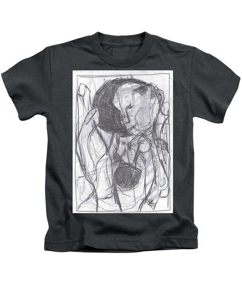 I Was Born In A Mine 3 Kids T-Shirt