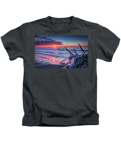 Ice Age Sunrise 1 Kids T-Shirt