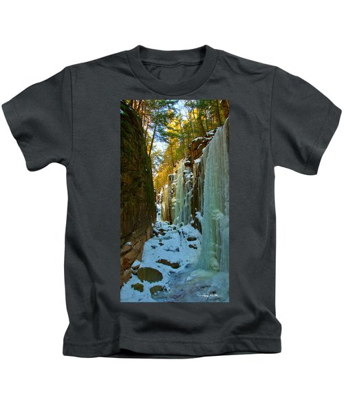 Ice At The Flume Kids T-Shirt