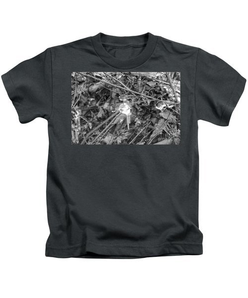 Ice Crystal In January Kids T-Shirt