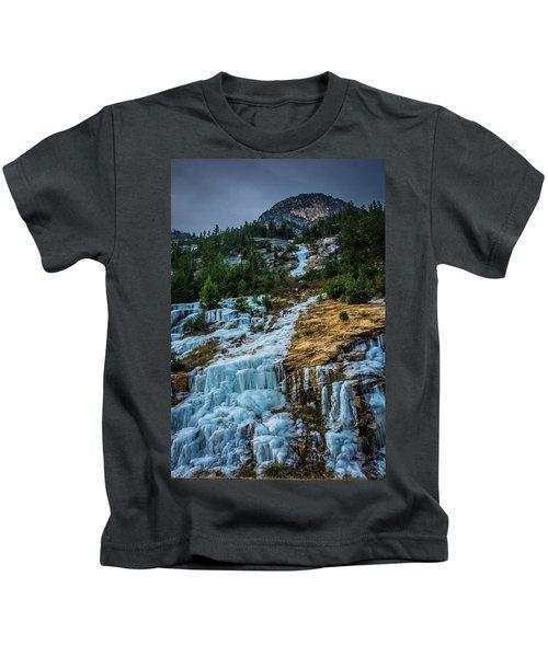 Ice Fall Kids T-Shirt