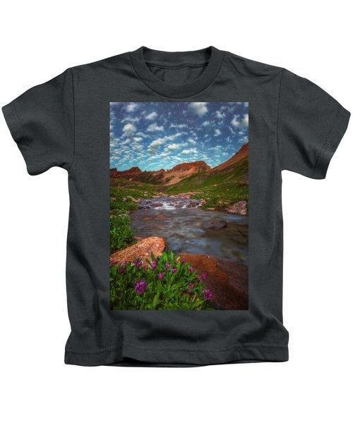 Ice Lake Nights Kids T-Shirt