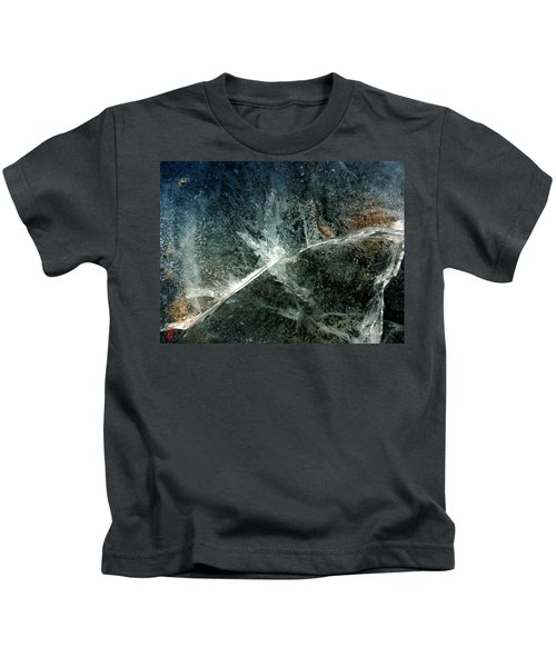 Kids T-Shirt featuring the photograph Ice Winter Denmark by Colette V Hera Guggenheim