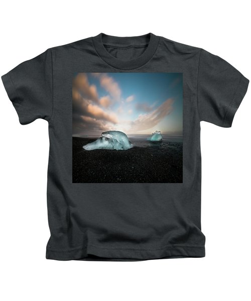 Iceland Glacial Ice Kids T-Shirt