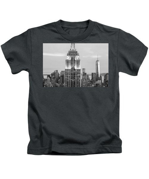 Iconic Skyscrapers Kids T-Shirt