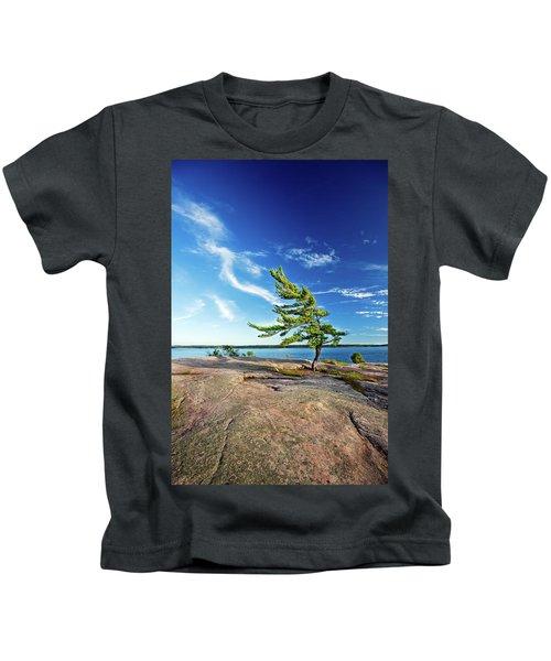 Iconic Windswept Pine Kids T-Shirt