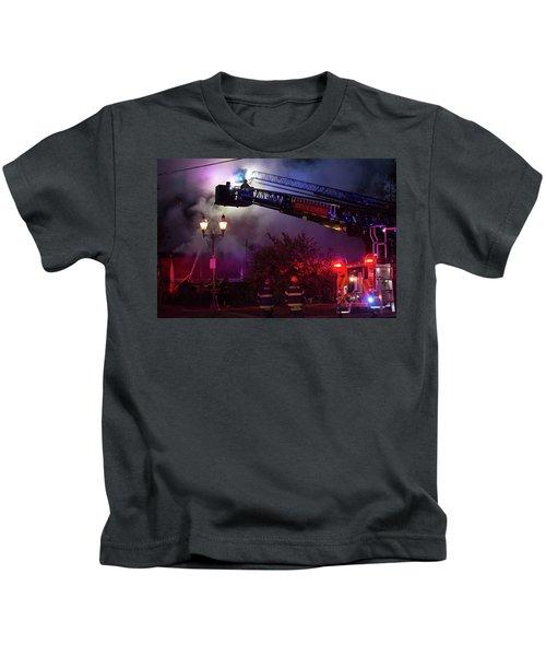 Ict - Burning Kids T-Shirt
