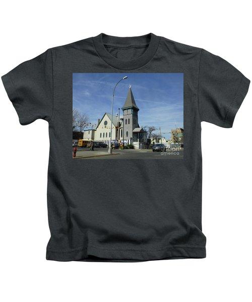 Iglesia Metodista Unida Church Kids T-Shirt