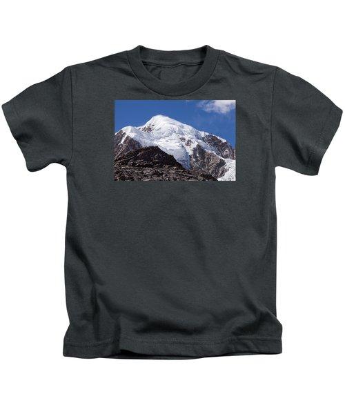 Illampu Mountain Kids T-Shirt