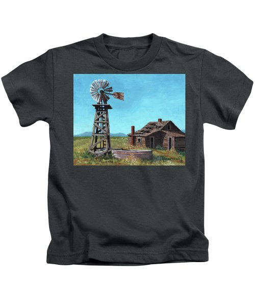 In Days Past Kids T-Shirt