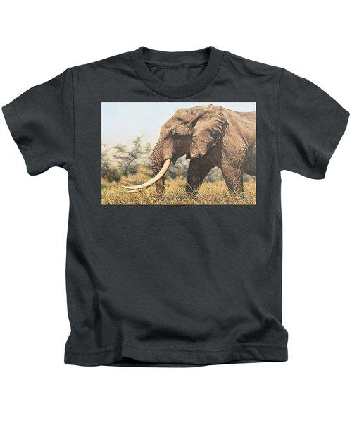 In The Footsteps Of Elders Kids T-Shirt
