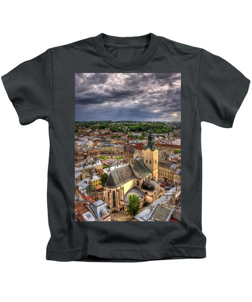 In The Heart Of The City Kids T-Shirt