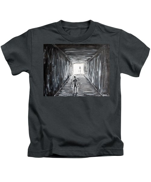 In The Light Of The Living Kids T-Shirt