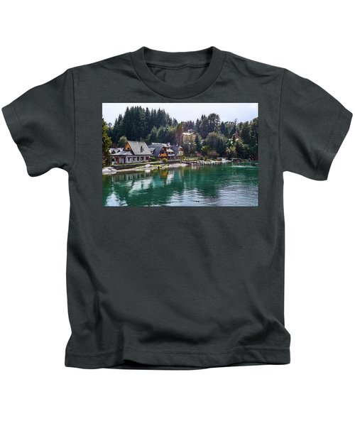 Rustic Museum In The Argentine Patagonia Kids T-Shirt
