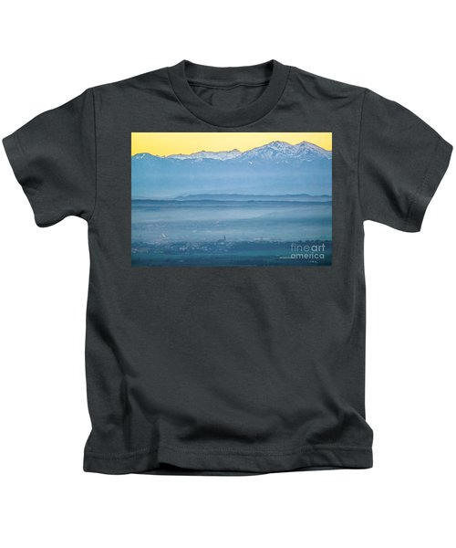 In The Mist 4 Kids T-Shirt