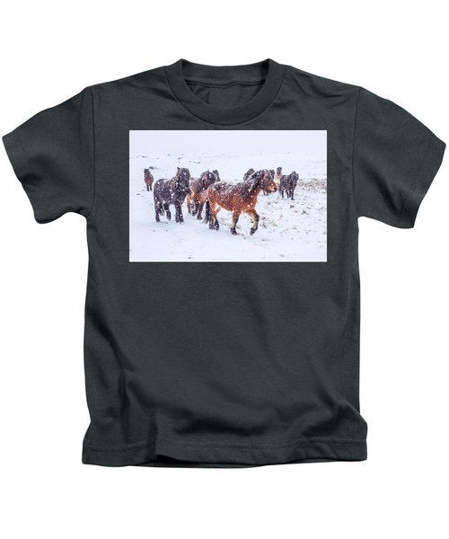In The Storm 2 Kids T-Shirt