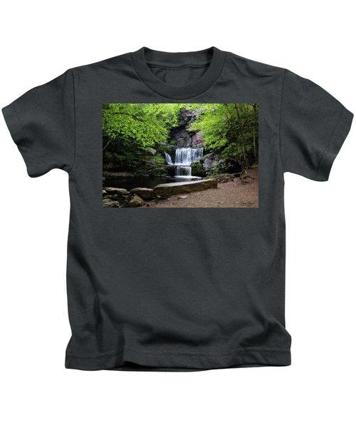 Indian Ladder Falls Kids T-Shirt