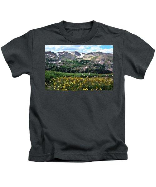 Indian Peaks Wilderness Kids T-Shirt