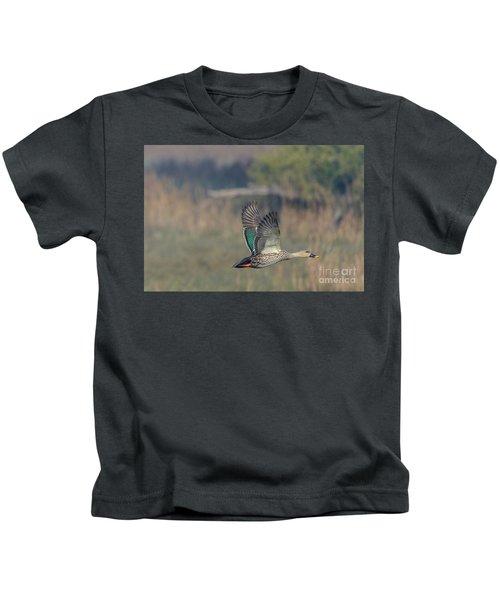 Indian Spot-billed Duck 03 Kids T-Shirt