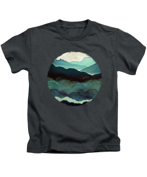 Indigo Mountains Kids T-Shirt