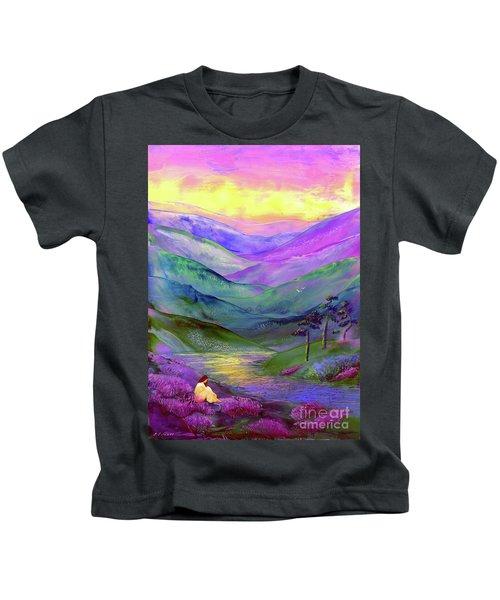 Inner Flame, Meditation Kids T-Shirt