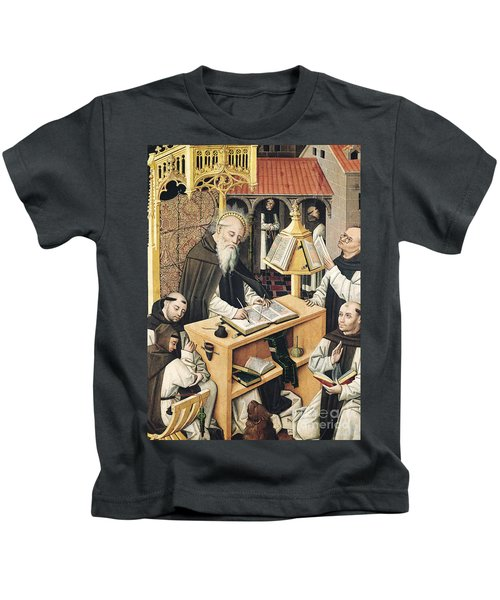 Interior Of A Scriptorium Kids T-Shirt