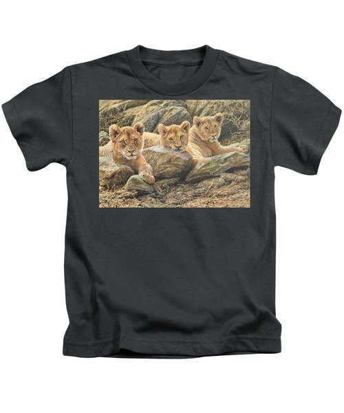 Interrupted Cat Nap Kids T-Shirt