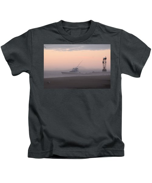 Into The Pink Fog Kids T-Shirt
