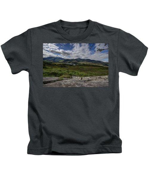 Irish Sky - Wicklow Mountains Kids T-Shirt
