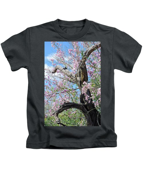 Ironwood In Bloom Kids T-Shirt