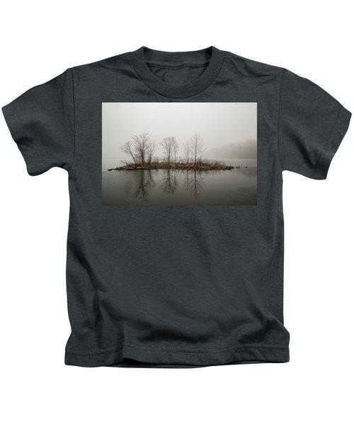 Island In The Fog Kids T-Shirt