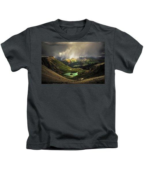 Island Lake Kids T-Shirt