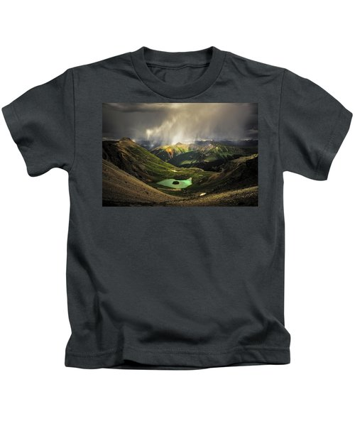 Island Lake Kids T-Shirt