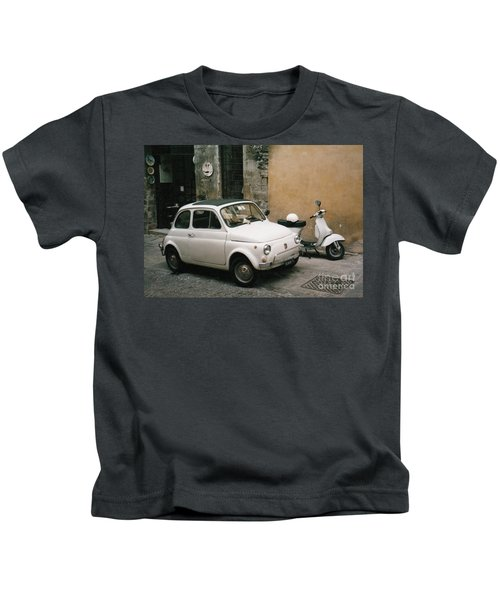 Italian Classic Commute  Kids T-Shirt