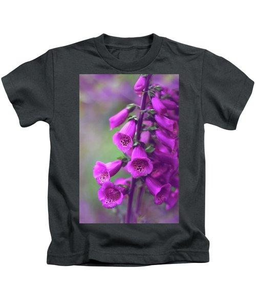 Fancy Foxglove Kids T-Shirt