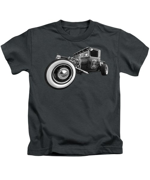 Jack Daniels Vintage Hot Rod Delivery Kids T-Shirt