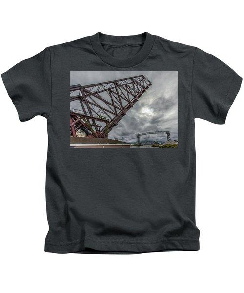Jackknife Bridge To The Clouds Kids T-Shirt