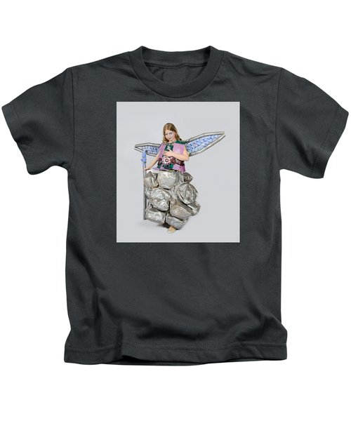 Jaeda In Techno Fairy Kids T-Shirt
