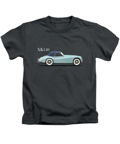 Jaguar Xk140 Kids T-Shirt