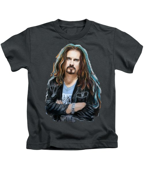 James Labrie Kids T-Shirt by Melanie D