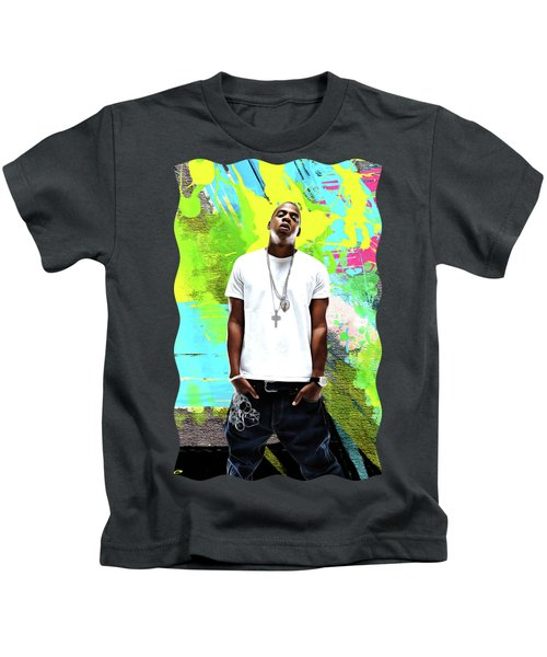 Jay Z - Celebrity Art Kids T-Shirt