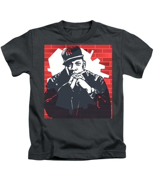 Jay Z Graffiti Tribute Kids T-Shirt