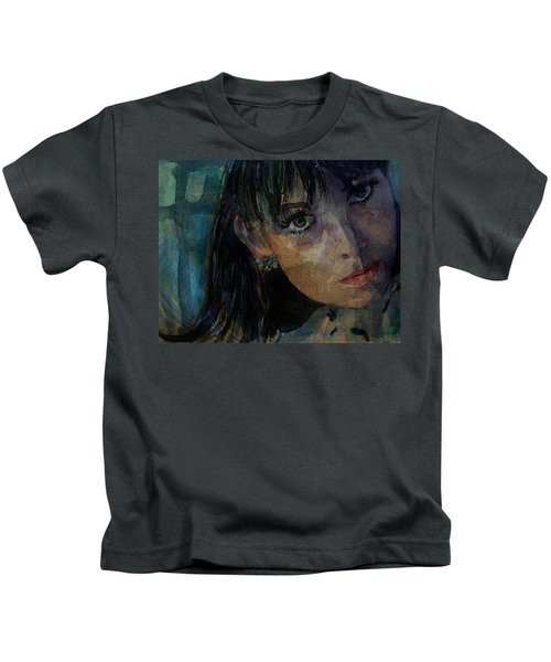 Jean Shrimpton Kids T-Shirt
