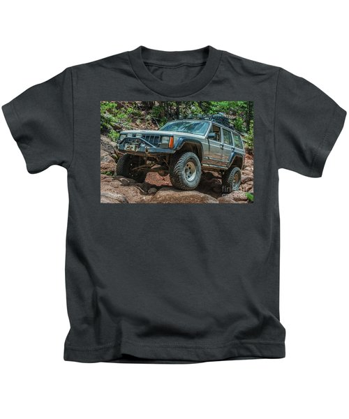 Jeep Cherokee Kids T-Shirt