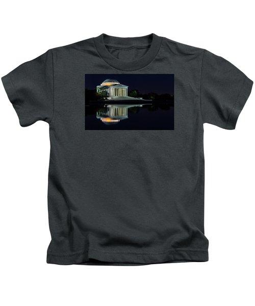 The Jefferson At Night Kids T-Shirt